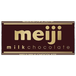 Meiji Milk Chocolate Bar 50g