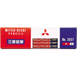 Mitsubishi Pencil Red And Blue...