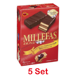 Bourbon Millefas 6 Pieces [5 S...